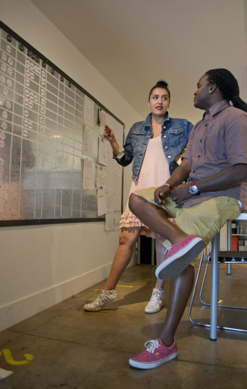 Maritza and Roshaun Davis discuss the arrangements for different events in the month of October.