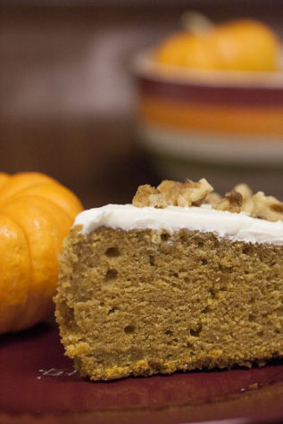 Give thanks with pumpkin cake from scratch