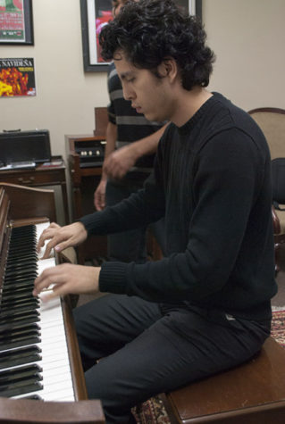 Gallarzo shares his love for music