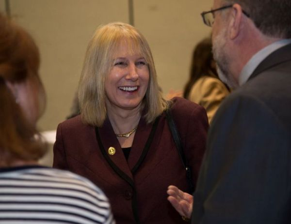 Incoming Provost Frederika
