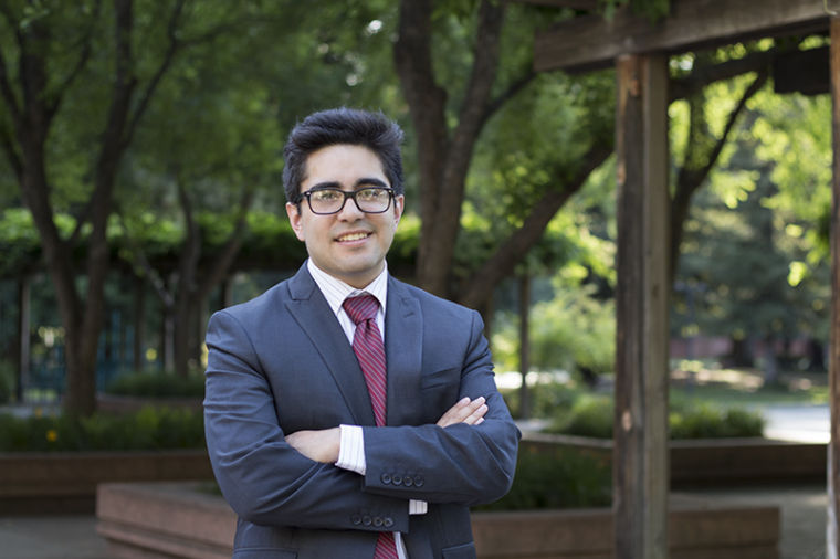 Oliver Ponce is running for the California State Assembly and is representing District Seven.