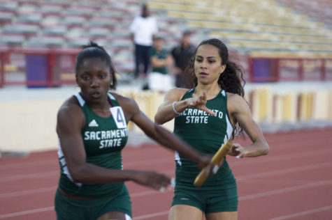 Hornet track relay teams break school records