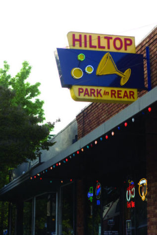 Only five minutes away from Sacramento State, Hilltop Tavern offers a selection of drinks and a game room in a laid back atmosphere.