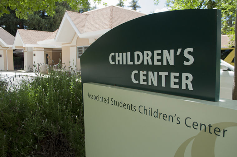 The Children's Center of one of the many ways the school helps students with children.