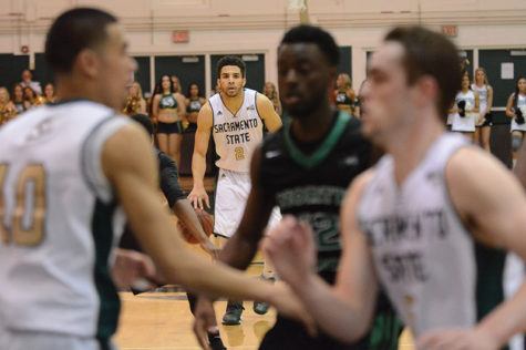Men's basketball has shot to finish conference season in first place