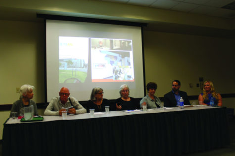 Panelists answer a question of whether Sac State should open a a new museum at