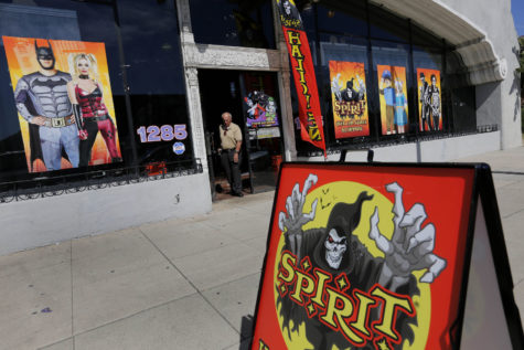 Halloween is big business and few companies are more prepared for it than Spirit Halloween. The company has over 1,100 locations, including this one in Pasadena, Calif. (Michael Robinson Chavez/Los Angeles Times/TNS)