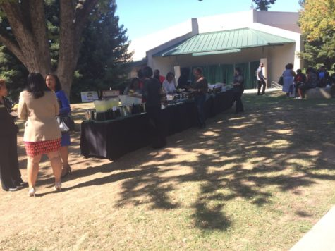 On October 5, 2015 there was a Picnic in Serna Plaza for African American Student Success