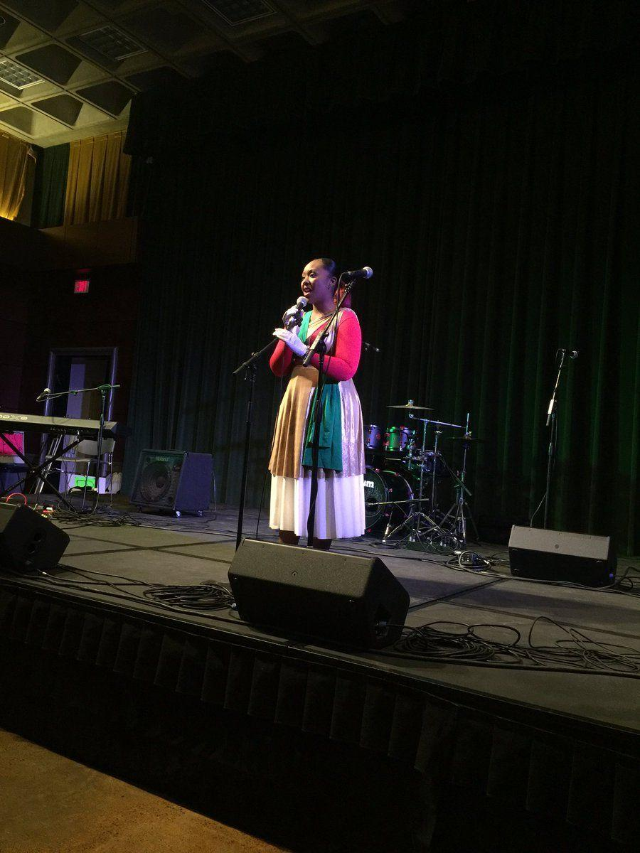Demesha Jackson singing