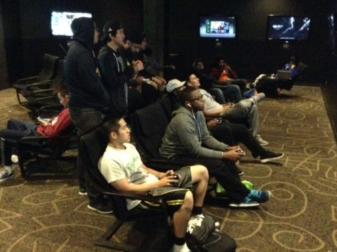 The University Union Games Room hosts semester's last NBA 2K16 video game tournament