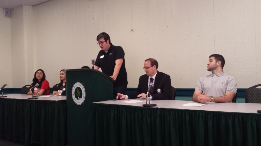 The first candidate forum kicks off in the University Union on Monday, March 4.