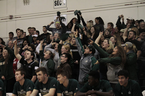 Green Army provides school spirit, attends, promotes athletic events