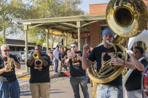 City of Trees Brass Band brings sass to jazz