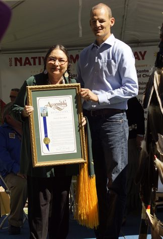 Sac State professor recognized by the State Assembly on Native American Day