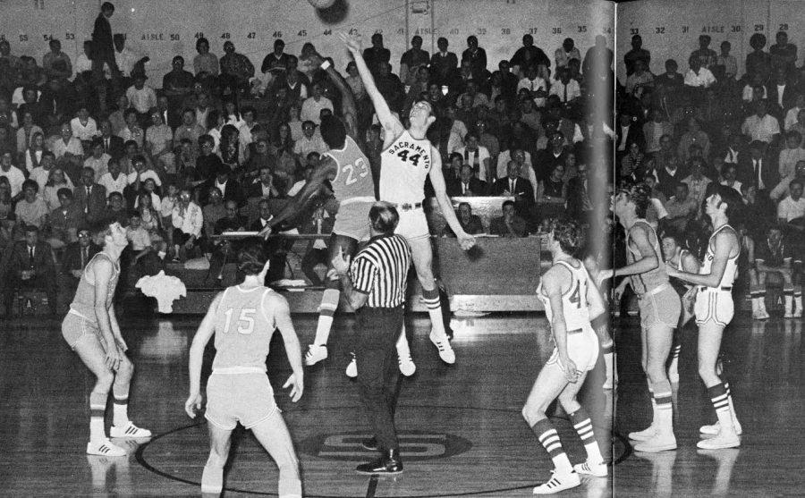Mitch Third averaged 16.7 points and 9.9 rebounds while leading Sacramento State to the 1970 NCAA Division II Tournament. (Photo courtesy of Sac State Athletics)