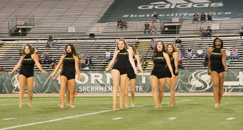 Hornet dance team brings buzz to campus