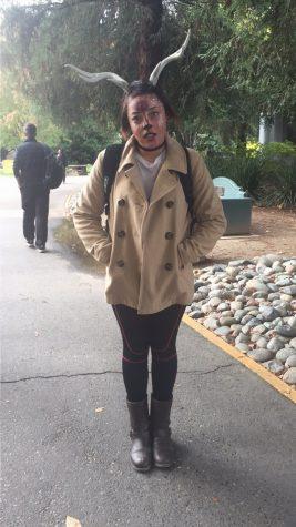 Pherrari Roy as a zombie deer