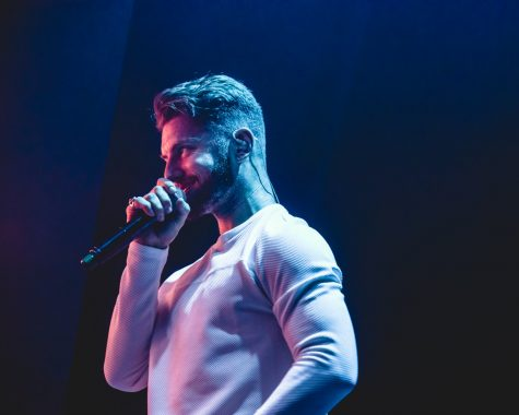 Marc E. Bassy performs at the Austin Music Hall on in Austin, Texas on Feb. 2. (Photo courtesy of Maggie Boyd of Do512)