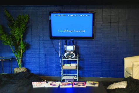 Students can find free karaoke at the Terminal Lounge in the University Union five days a week. (Photo by Diana Rykun)