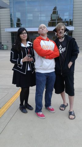 Ashley Lopez as a Vampire Knight student, Alexander Goldstein as Saitama and Ryan Naatz as Neko