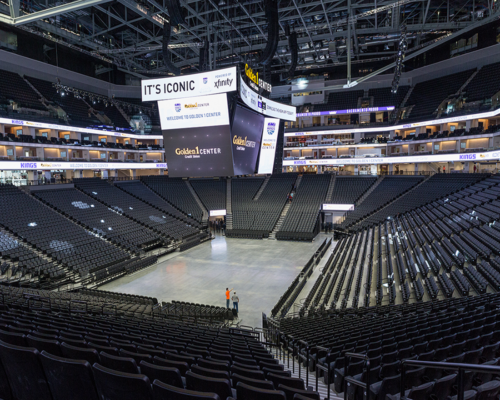 Ribbon cutting opens Golden 1 Center basketball arena to ...