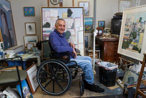 Gregory Kondos' 93-plus years of blue subtlety