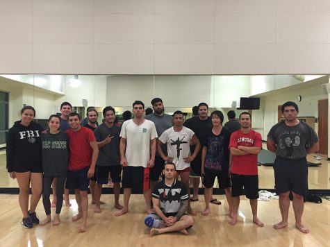 The 'self-defense' club: MMA enthusiasts practice punches on campus