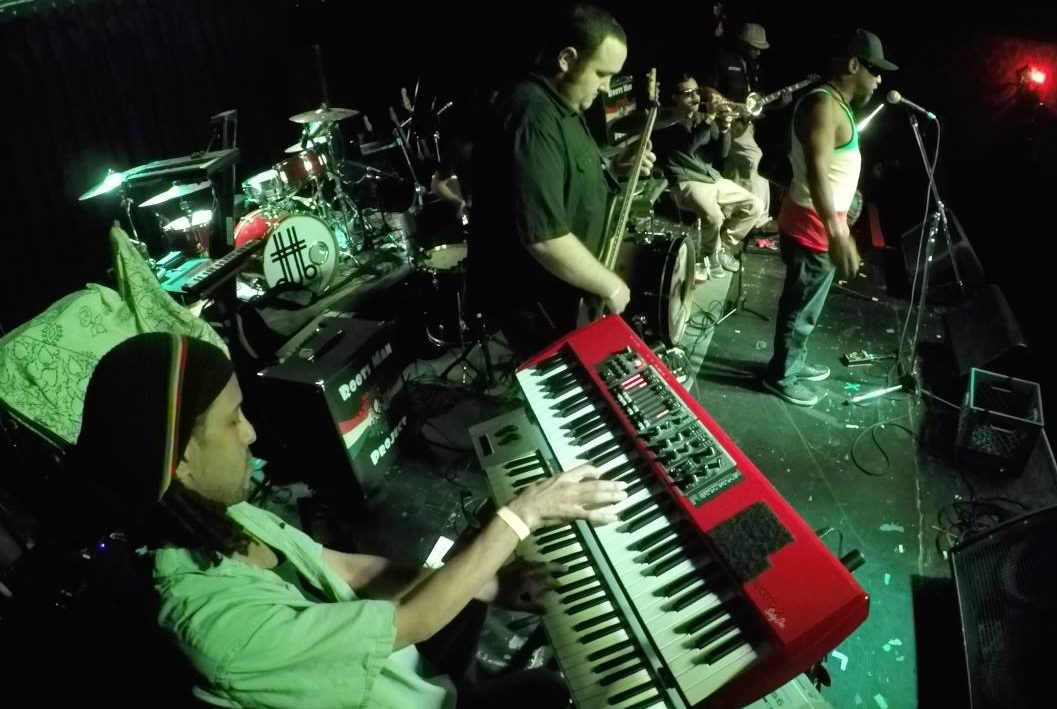 Reggae band Roots Man Project performs at The Boardwalk in Orangevale in October 2016. The group will headline a Sac State Nooner on Feb. 1. (Photo courtesy of Roots Man Project)