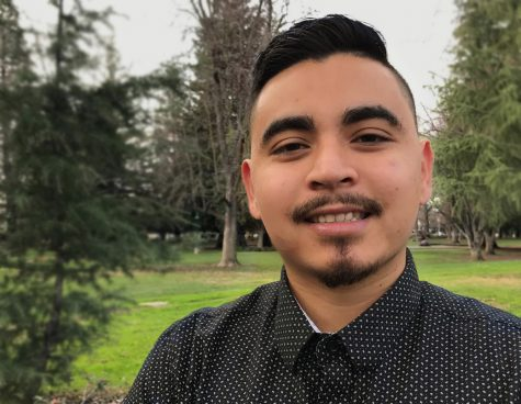 Sac State student Christopher Vaeches started his first business in elementary school. Today he is the president of the Sacramento Association of Collegiate Entrepreneurs and is developing his own businesses. (Photo by Vu Chau)