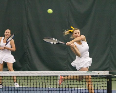 Women's tennis team projected to finish first in Big Sky