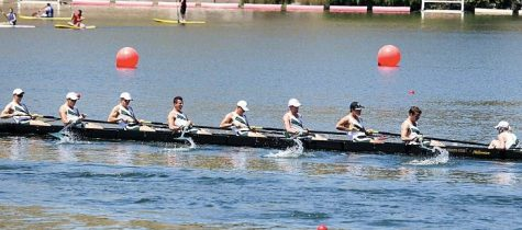 Rowing team ends WIRA Championships with gold, bronze finishes