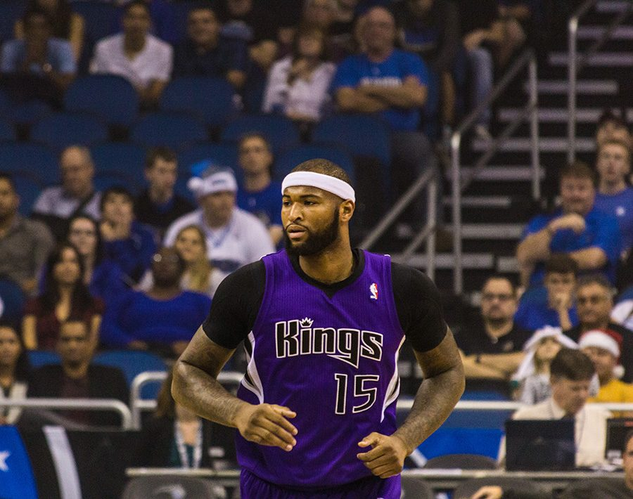 The+Sacramento+Kings+traded+three-time+NBA+All-Star+DeMarcus+%E2%80%9CBoogie%E2%80%9D+Cousins+to+the+New+Orleans+Pelicans+on+Feb.+19.+%28Photo+courtesy+of+Mike%2FWikimedia+Commons%29