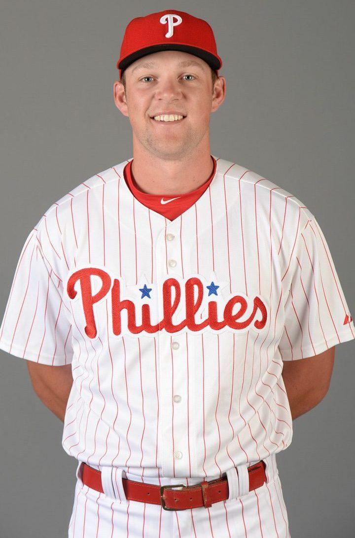 Sac State alumnus Rhys Hoskins competes for spot on MLB ...