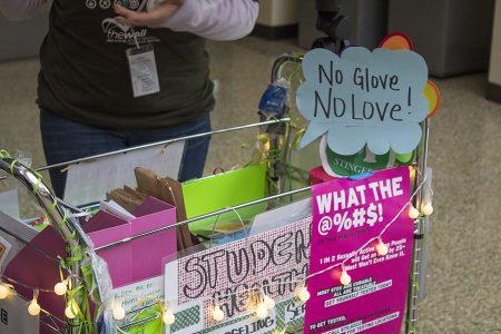 Condom cart at Sac State promotes safe sex