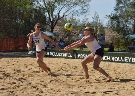 Beach volleyball team serves losses to San Francisco, San Jose State