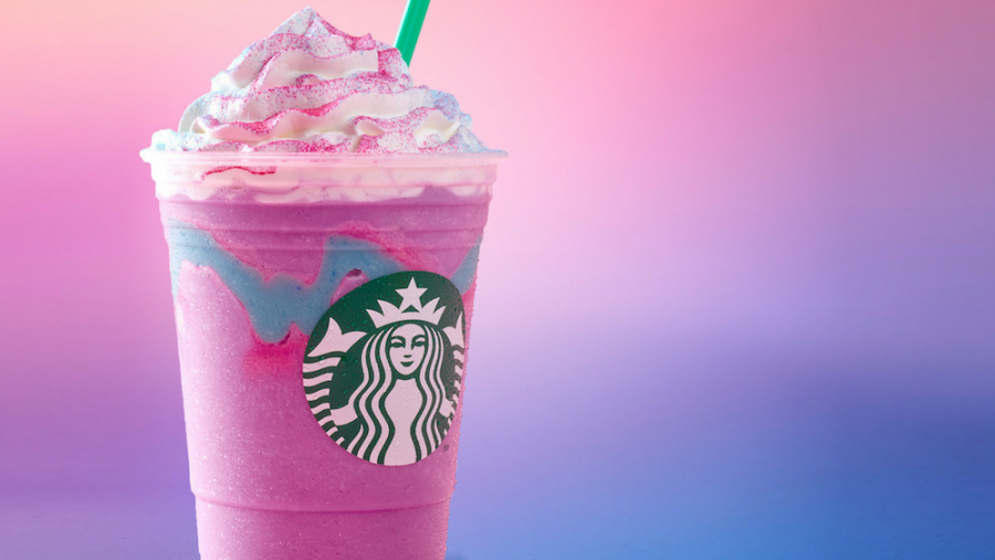 Starbucks%27+new+Unicorn+Frappuccino+features+blended+creme%2C+mango+syrup+and+layered+with+sour%2C+fruity+blue+drizzle.+The+limited-edition+concoction+is+available+until+April+23+in+the+United+States%2C+Canada+and+Mexico.+%28Photo+courtesy+of+Starbucks%29