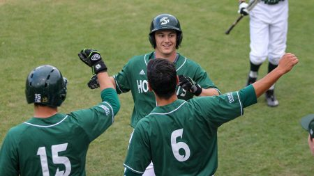 Sac State baseball sweeps final home series, celebrates Senior Day