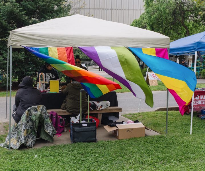 The PRIDE Center hosts many LGBT-related events on campus, such the Resource Fair on April 12. The center is currently celebrating its 10th academic year on the Sacramento State campus. (Photo by Matthew Nobert)