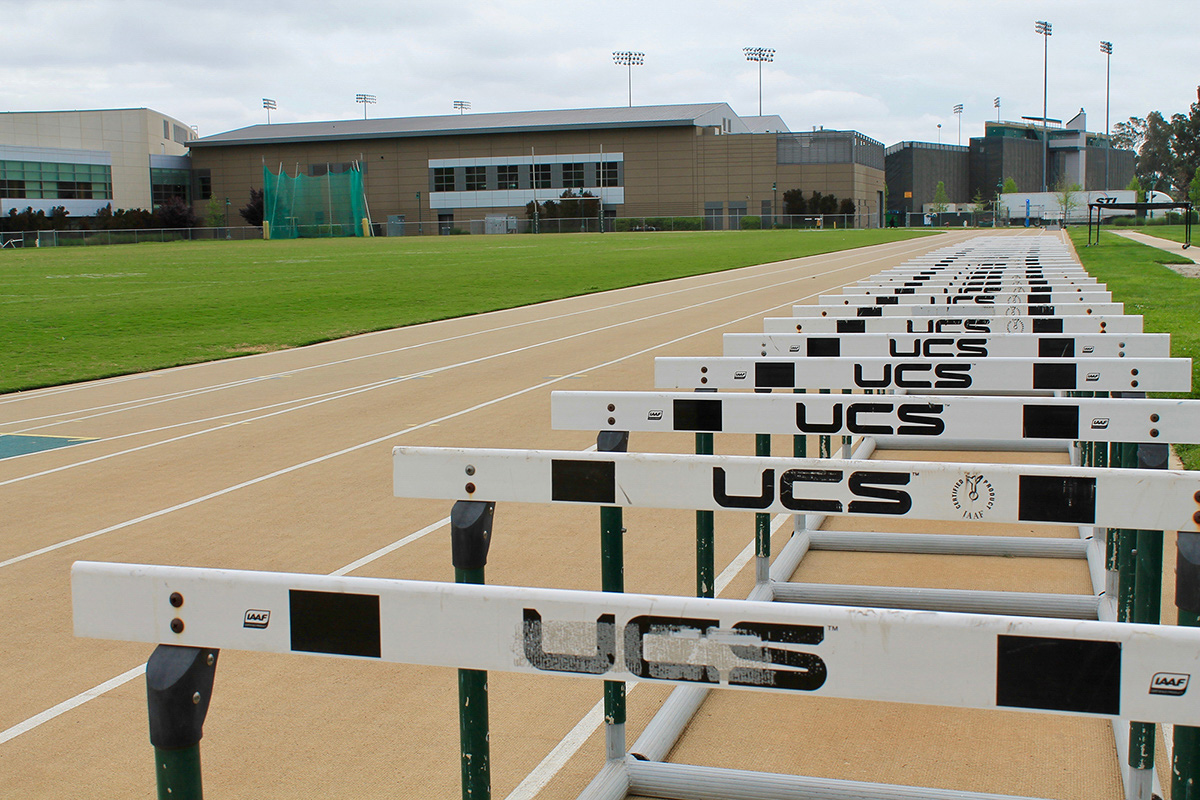 The California State University Board of Trustees filed a lawsuit against Mondo USA on March 14 due to the appearance and performance of the Sacramento State tracks at Hornet Stadium. (Photo by Sami Soto)