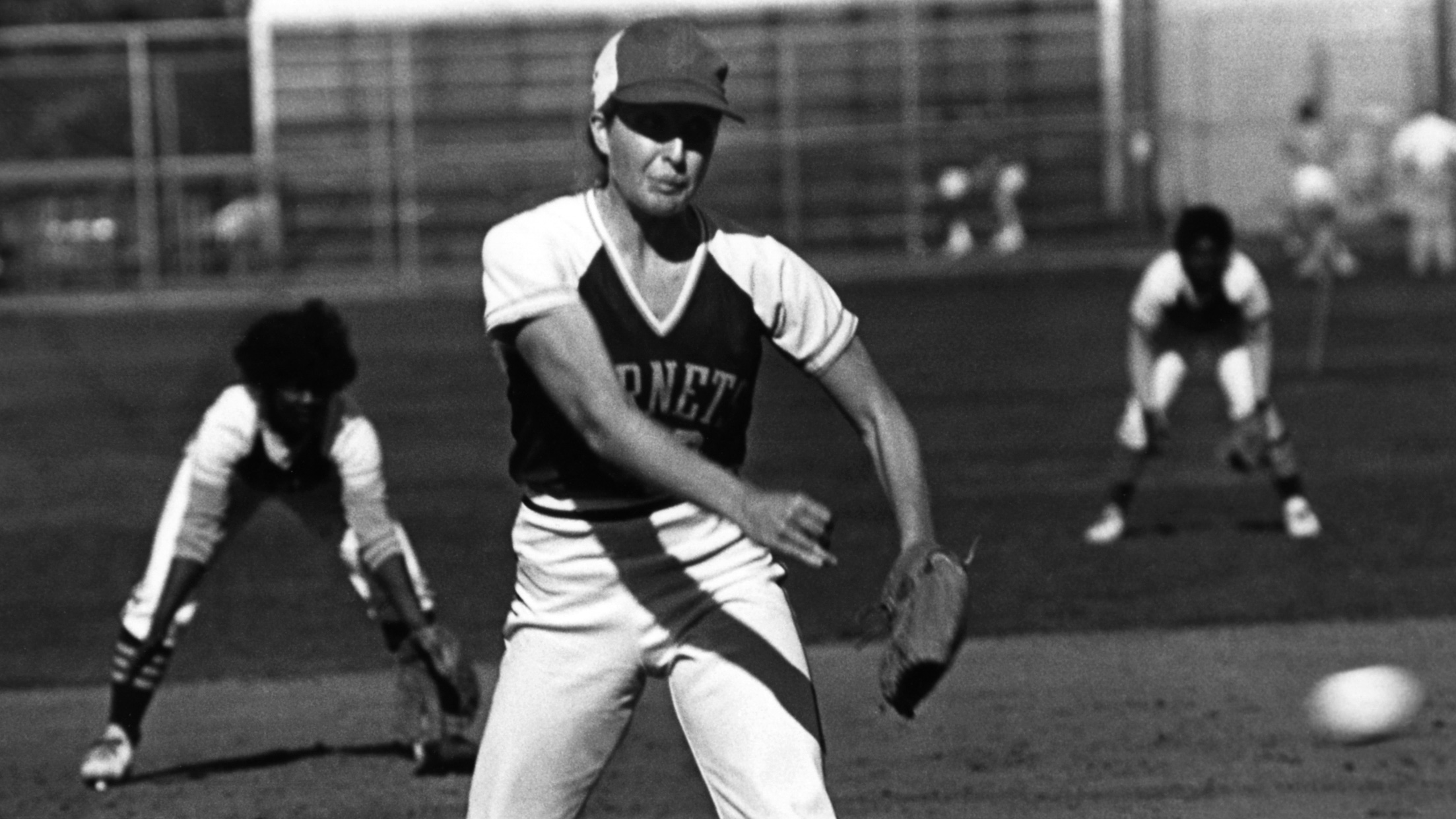 Sacramento State alumna Joanne English will have her No. 21 jersey retired Saturday at Shea Stadium. English had a 117-49 career record, earned two first-team All-American honors and won Division II National Softball Player of the Year in 1981. (Photo courtesy of Sac State Athletics)