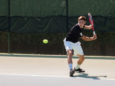 Hornets defeat No. 1 men's tennis team in Big Sky