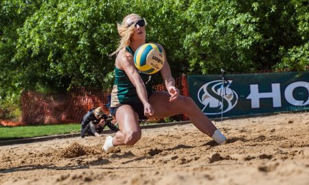 Beach volleyball team victorious in last 3 regular-season games