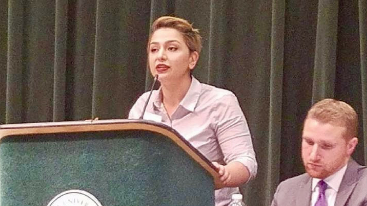 Shae Khan is captain of the CSUS Debate Team. (Photo courtesy of Jared Anderson)