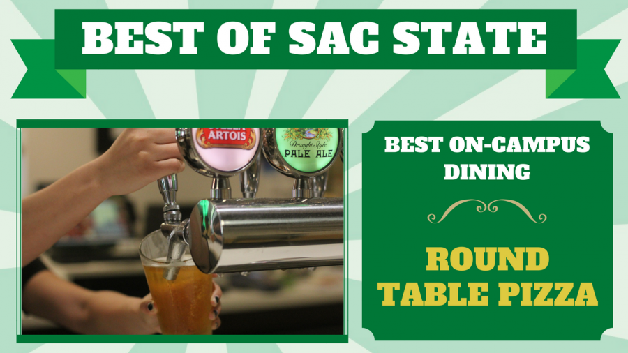 Sac State Round Table.Round Table Pizza Voted Best On Campus Dining At Sac State The