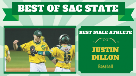 Justin Dillon voted 'Best Male Athlete' at Sac State