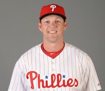 Sac State alumnus Rhys Hoskins competes for spot on MLB roster