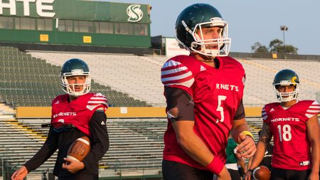 Hornets narrowing down quarterback competition