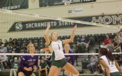 Hornets win Big Sky volleyball opener over Weber State