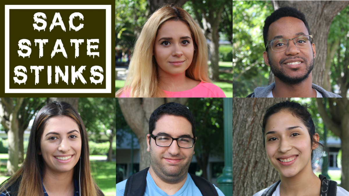 #SacStateStinks: What is the worst thing you've smelled on campus?