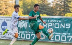 Sac State men's soccer clinches playoff berth after blasting Mustangs 5-1